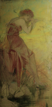 A.Mucha / Summer / 1896 by AKG  Images