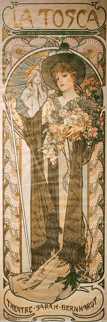 Sardou, Tosca / Plakat von Mucha von AKG  Images