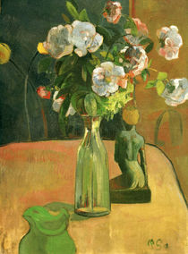 P. Gauguin / Roses and Statuette / 1890 by AKG  Images