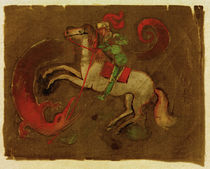 A.Macke / Knight George and dragon by AKG  Images