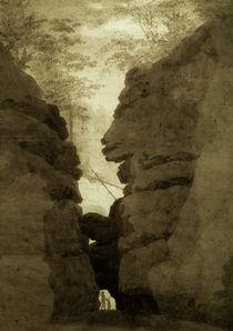 C.D.Friedrich / Rock gate / 1801 by AKG  Images