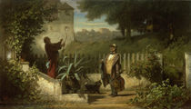 Carl Spitzweg / Visit to the Countryside by AKG  Images