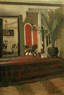 F.Vallotton, Interieur: Salon mit Blick. von AKG  Images