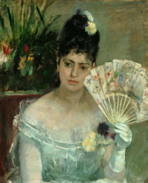 B.Morisot / At the Ball / 1875 by AKG  Images