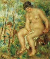Renoir / The Bather /  c. 1915 by AKG  Images