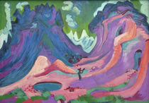 E.L.Kirchner, Amselfluh by AKG  Images