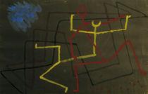 Paul Klee, Gelb unterliegt (Yellow...) by AKG  Images