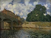 Sisley / Bridge near Hampton Court /1874 by AKG  Images