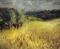 Renoir / The cornfield / 1879 by AKG  Images