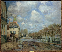Sisley / Flooding in Port-Marly / 1876 by AKG  Images