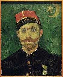 van Gogh / Portrait of Milliet / 1888 by AKG  Images