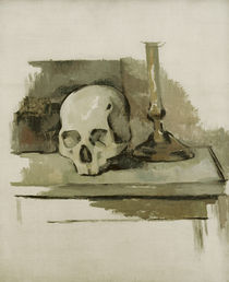 Cézanne / Still life with skull by AKG  Images