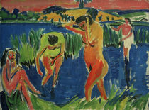 E.L.Kirchner / Four Bathers by AKG  Images