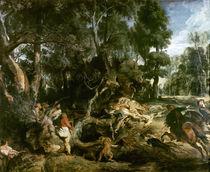 P.P.Rubens, Die Wildschweinjagd by AKG  Images