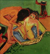 E.L.Kirchner, Zwei Akte mit Badewanne von AKG  Images