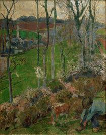 P.Gauguin, Landschaft bei Pont-Aven by AKG  Images