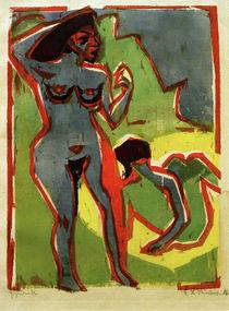 E.L.Kirchner / Women Bathing (Moritzburg) by AKG  Images