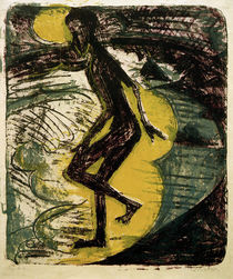 E.L.Kirchner / Man striding out into the.. by AKG  Images