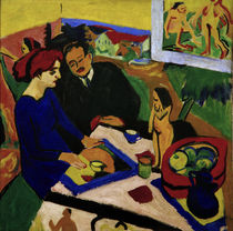 E.L.Kirchner / Doris and Heckel at the... by AKG  Images