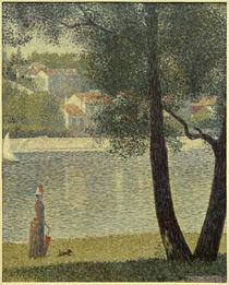 G.Seurat, Die Seine bei Courbevoie by AKG  Images