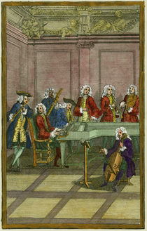 J.S.Bach, Clavichord-Concert von AKG  Images
