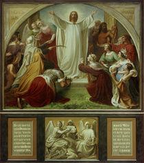 W. von Schadow, Paradies (Himmel) / Mitteltafel, Triptychon, von AKG  Images
