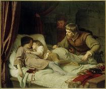 Ermordung Eduards IV. u. Brruder Richard / Gem. v. Hildebrandt by AKG  Images
