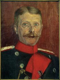 Maximilian von Schwarzkoppen als Militärattaché / Gemälde von Ida Gerhardi von AKG  Images