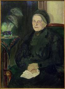 Ida Gerhardi, Bildnis einer älteren Dame (Emma Turck) von AKG  Images