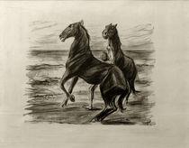 M.Liebermann, Steigende Pferde von AKG  Images