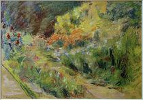M.Liebermann, Blumenbeet im Vordergarten von AKG  Images