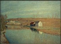 A.Sisley, Der loing und die Hänge von St. Nicaise - in der Märzsonne von AKG  Images