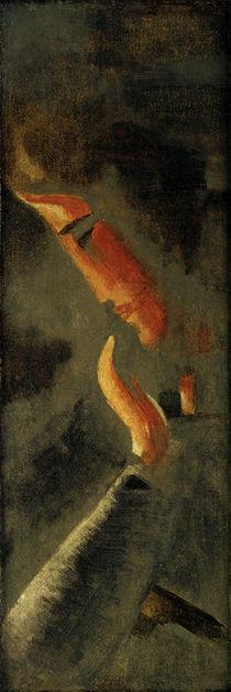 O.Schlemmer, Kopf mit erhobener Hand von AKG  Images