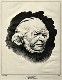 Honoré Daumier / Vallotton nach Nadar by AKG  Images