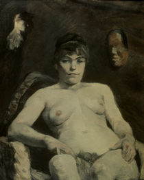 Toulouse-Lautrec / Fat Marie / 1884 by AKG  Images