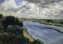 A.Renoir, Chalands sur la Seine von AKG  Images
