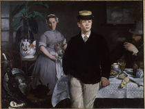Manet / Breakfast in the Studio / 1868 by AKG  Images