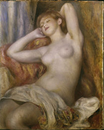 Renoir / Sleeping woman / 1897 by AKG  Images