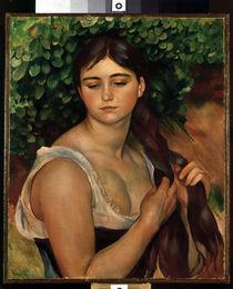 A.Renoir / La Natte (S.Valadon) /1884 von AKG  Images