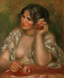 Renoir / Gabrielle a la rose / 1911 by AKG  Images