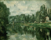 Cezanne / The Bridge at Creteil / 1888 by AKG  Images