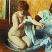 Degas / Woman in a Tub / 1885 by AKG  Images