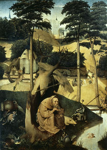 Temptation of St Antony / H. Bosch / Painting, after 1500 by AKG  Images
