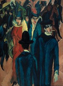 Kirchner / Berlin Street Scene / 1913 by AKG  Images