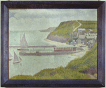 Seurat / Port-en-Bessin, avant-port/ 1888 by AKG  Images