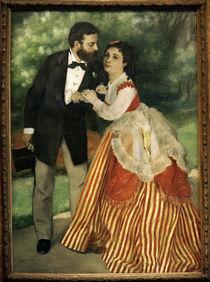 A.Renoir, Das Ehepaar Sisley by AKG  Images