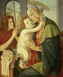 S.Botticelli, Maria mit Kind u. Johannes by AKG  Images