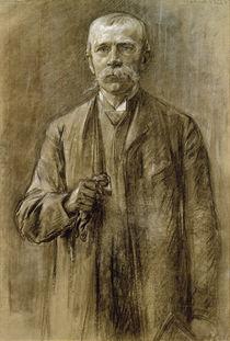 Fritz von Uhde / Zeichnung von Max Liebermann by AKG  Images