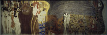 Beethoven Frieze / G. Klimt / Wall Fresco / 1902 by AKG  Images
