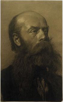 G.Klimt, Kopf eines bärtigen Mannes by AKG  Images